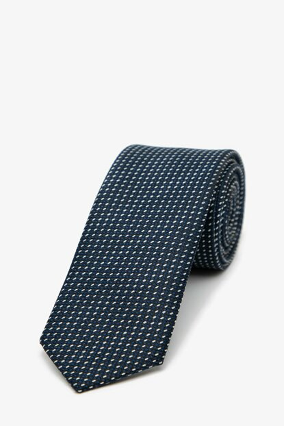 Men's Navy Blue Tie 0KAM89002VA