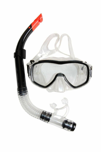 Ravel Adult Mask Snorkel Set 4105 BLACK 4105SIYH
