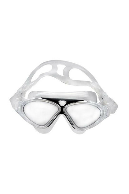 Cosfer CSF-8170S (Black) Silicone Swimmer Goggles Transparent Custom Box CSF8170S