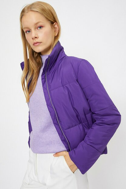 Women's Purple Jacket 0KAL08227OW