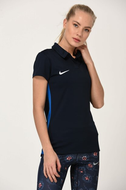 Women's Polo Neck T-shirt - W Nk Dry Acdmy18 Polo Ss - 899986-451