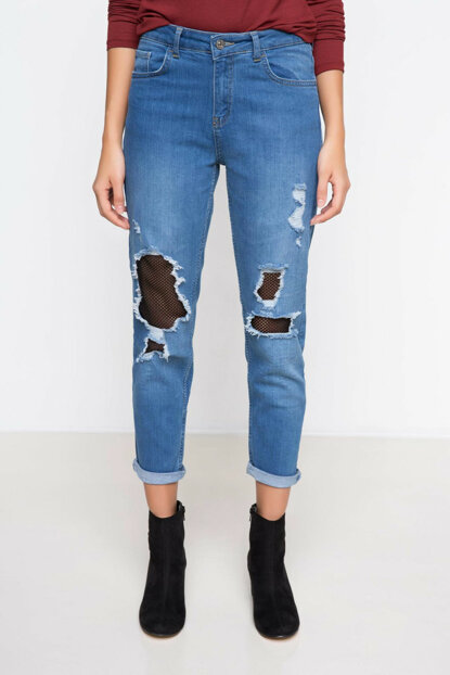 Women's Denim Pants I1198AZ.17AU.BE480