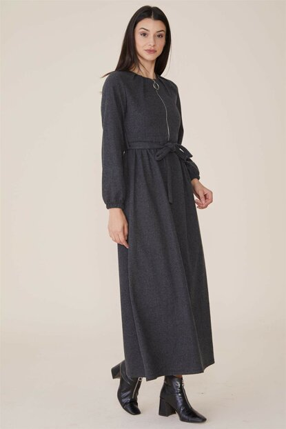 Women's Anthracite Dress Nassah-MPU-9W5880