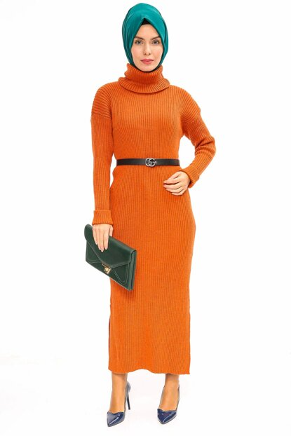 Women's Tile Sweater Dress 02218KBELB01032