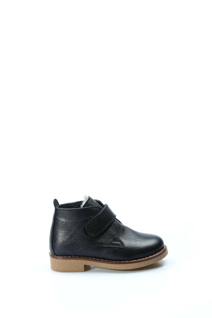 Genuine Leather Black Boys Boots & Bootie 1875783