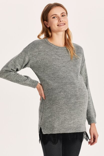 Women Anthracite Cth Maternity Wear Tunic 9W7732Z8