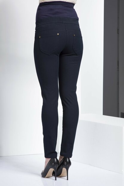 Maternity Maternity Navy Blue Denim Pants Kim.Navy Blue Ty3420 TY3420