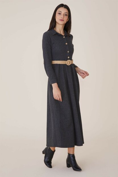 Women's Anthracite Dress Nassah-MPU-9W5863