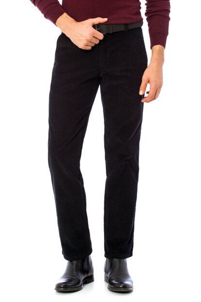 Men's Black Trousers 7K3641Z8