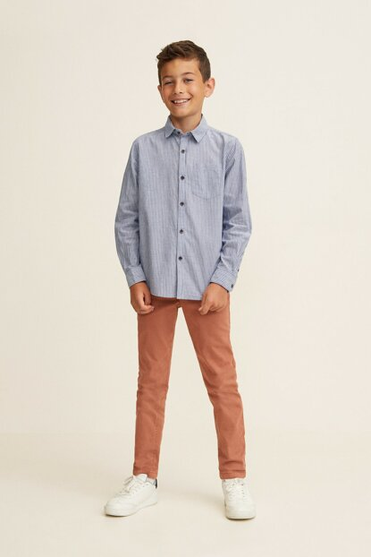 Dark Blue Boy Shirt 33860623 Click to enlarge
