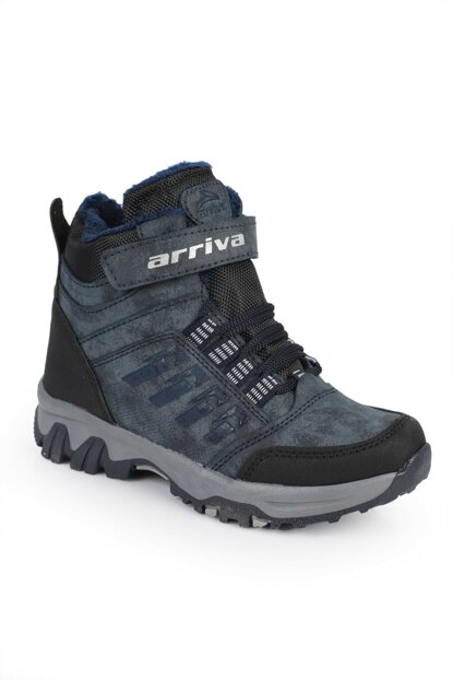 Navy Blue Unisex Boots DXTRSTRKNG1954