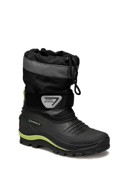 F99338SPI - 00500430 Black Boys' Snow Boot