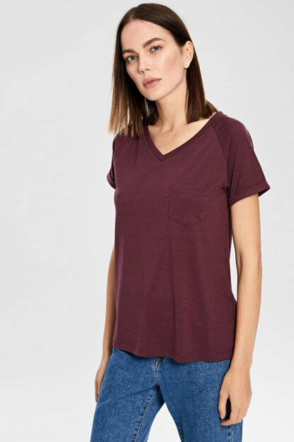 Women's Plum T-shirt 0S4939Z8
