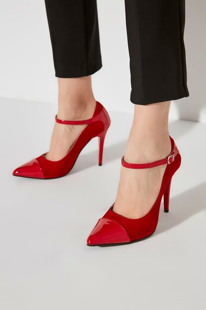 Red Women Classic Heels Shoes TAKAW20TO0121