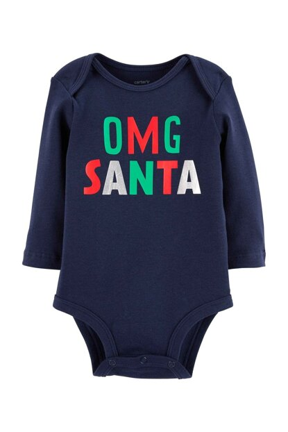 Navy Blue F18 Motto Bs Neutral Navy Omg Santa 118I567