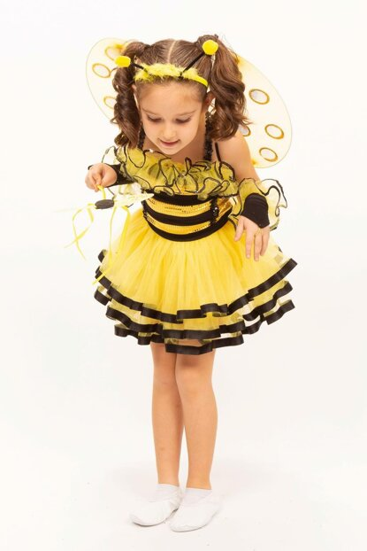 Bee Missbzz 6 Age Girl Costume ST00031-5
