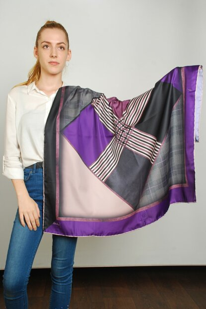 Women Multi Color Sport Polyester Scarf 9351305