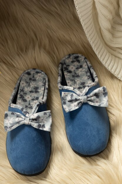 Women's Bow Slippers 1KTERL0326-8682116106634