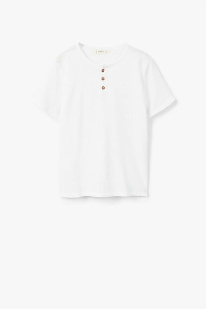White Boy Henley T-Shirt 33063030