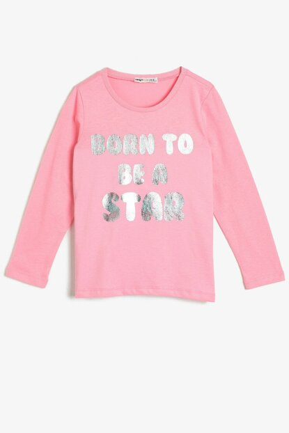 Pink Girl Summer Printed T-Shirt 0YKG17351AK