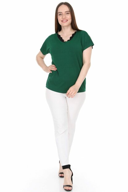 Women's Green Blouse 2299