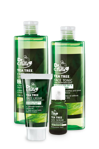 Dr. C. Tuna Tea Tree Face Care Set of 4 9408400099999