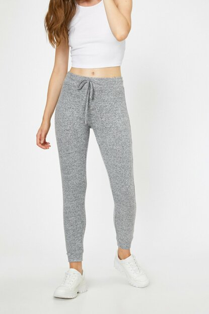 Women's Gray Trousers 0KAL48433OK