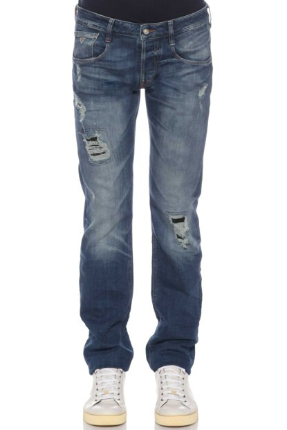 Men's Trousers Gu62M63As3D26Y0-Denim GU62M63AS3D26Y0-DENIM