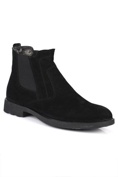 Black-Suede Men's Boots DXTRSKNT00422