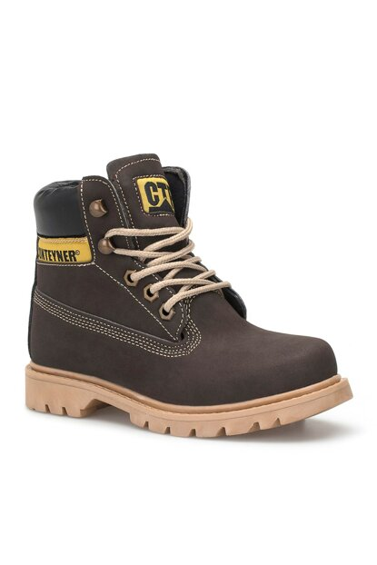 Brown Unisex Kids Boots DS.921