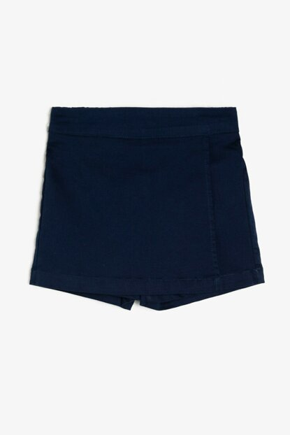 Navy Blue Kids Shorts & Bermuda 0KKG47763OW