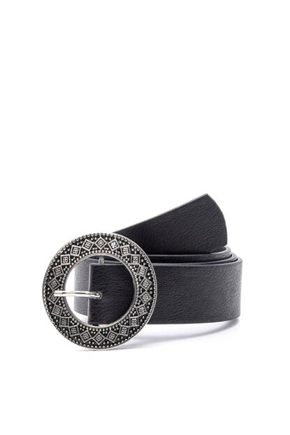 Ethnic Pattern Round Buckle Belt K-AW19038