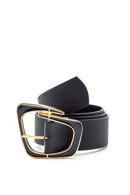 Geometric Buckle Belt K-AW19003