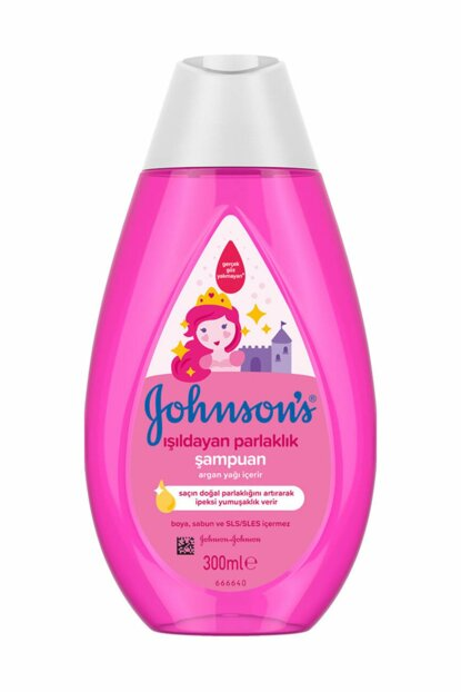 Johnsons Baby Luminous Shine Shampoo 300ml New 44902