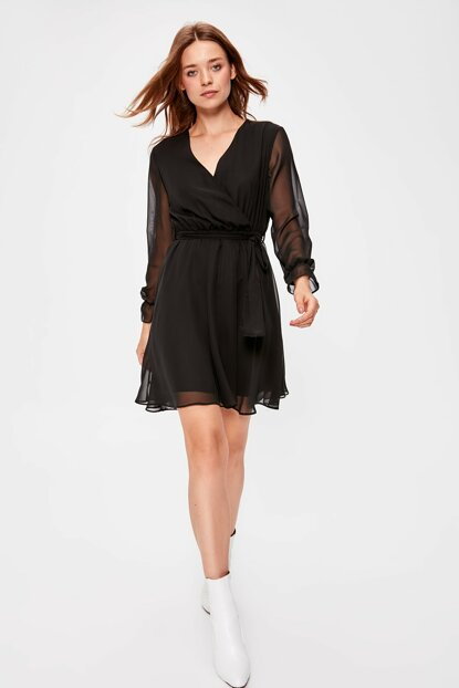Black - Dress TWOAW20EL0789