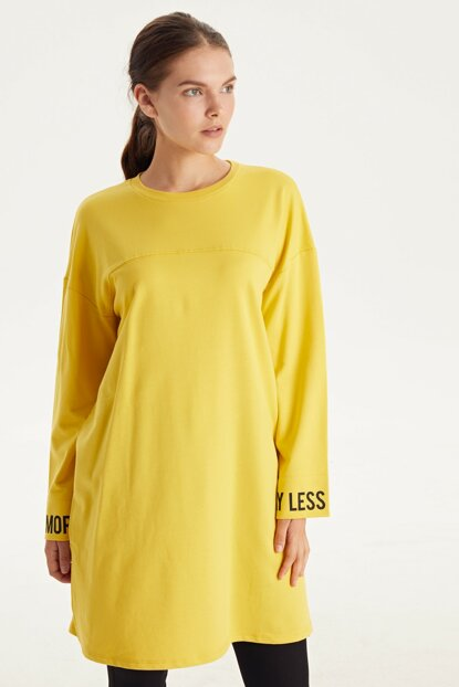 Women's Yellow Tunic 9WK836Z8