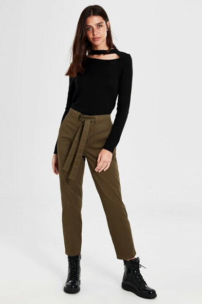 Women's Khaki Pants 9WM361Z8