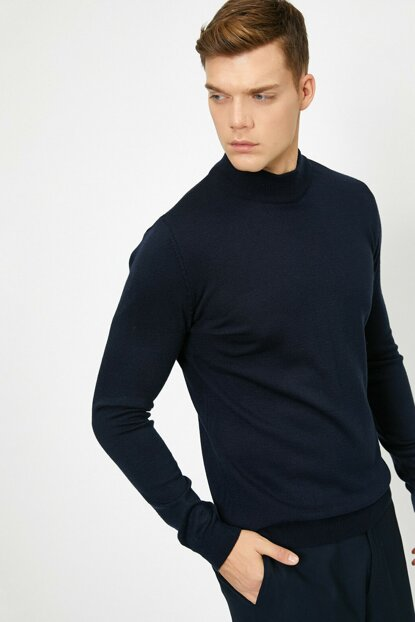 Men's Navy Blue Pullover 0KAM92007LT