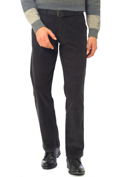 Men's Gray Trousers 7K3641Z8