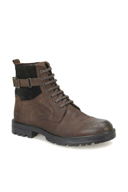Men's Genuine Leather Brown Boots 000000000100341757