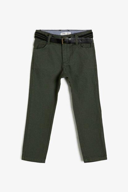 Green Children Trousers 0KKB46718TW