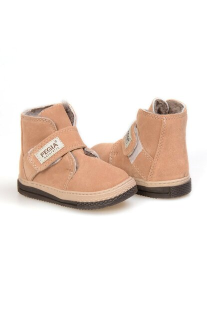 Sahra Genuine Suede Fur Children Boots 186010