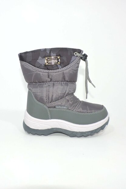 Gray Unisex Boots & Booties 1055.P.144