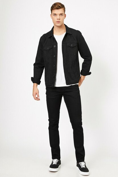 Men's Black Jean 0YAM43306LD