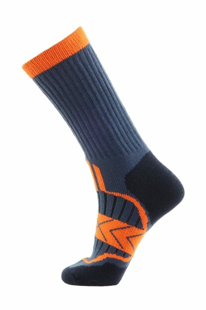 Outdoor Socks Orange / Gray PNZ-460532BLUNVYORGBNO