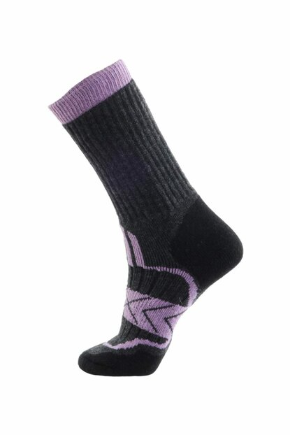 Outdoor Socks Black / Purple PNZ-460532ANTBLGRY28ga