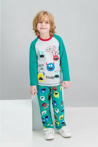 Monster Naps Children's Sleepwear Pajama Set RP1518-C-V2