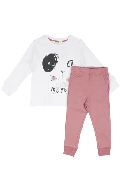 Cat Pajamas Set 50158