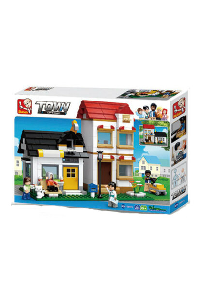 Sluban Large Home Construction Kit / M-SLB0573