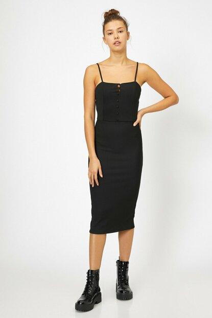 Women's Black Dress 0KAL88120OK